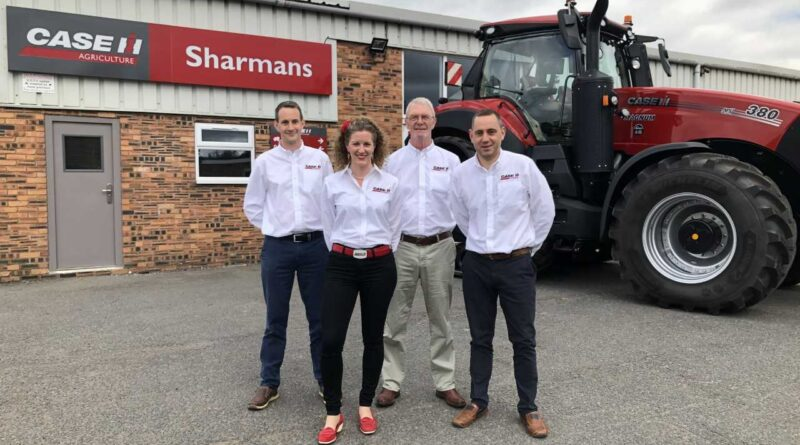 Case IH dealer  Sharmans Agricultural Limited to open sixth depot in Cambridgeshire