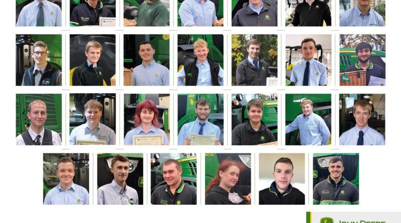 John Deere apprentices graduate in 27 ceremonies
