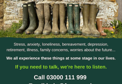 Farming charity asks if industry is really 'as tough as old boots' during mental health awareness week 2021