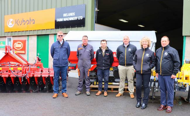 Irelands Farm Machinery open depot in Rutland