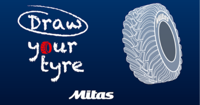 Mitas launches its first ever Draw Your Tyre challenge